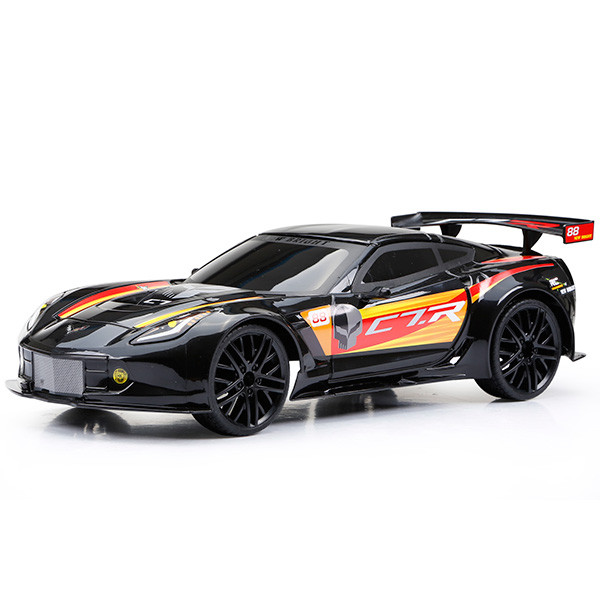 Игрушка на радиоуправлении Corvette C7R (Чёрный)