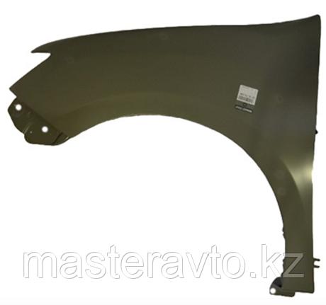 Крыло ОРИГИНАЛ переднее левое БЕЗ повторителя Renault Sandero 2014>(NEW)