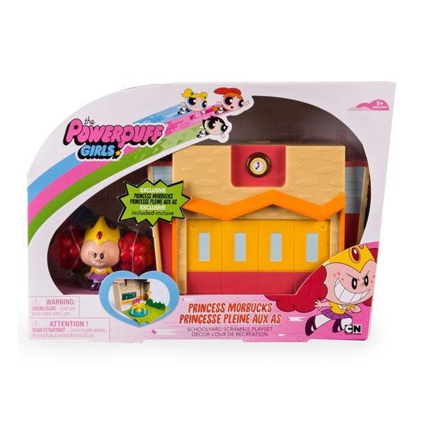 Игрушка Powerpuff Girls Раскрывающийся игровой набор с фигуркой суперкрошки (в ассорт.)