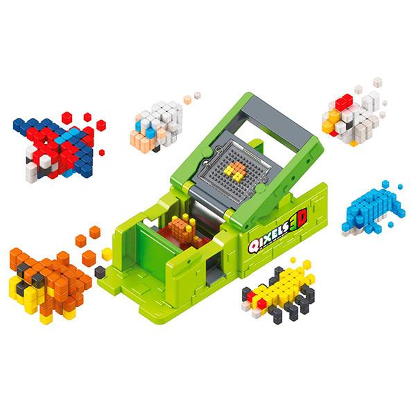 """Игрушка QIXELS 3D Набор для творчества  Машинка для создания 3D фигурок """"3D Принтер"""""""