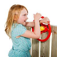 Детский руль из ударопрочного пластика, с гудком, фото 1