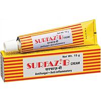 Surfaz-b, Натуральный крем противогрибковое средство, 10 гр