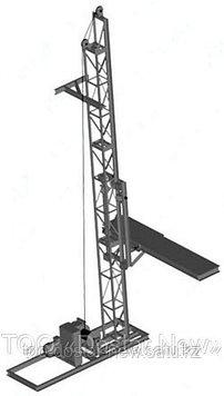 Подъёмник мачтовый строительный ПМ-500