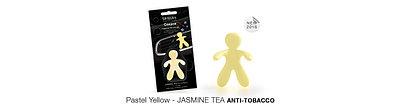 Mr & Mrs Fragrance: ароматизатор автомобильный Jasmine Tea (антитабак)