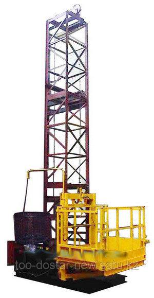 Подъемник мачтовый строительный ПМ-1000