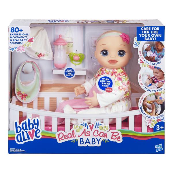 Hasbro Baby Alive кукла Любимая малютка