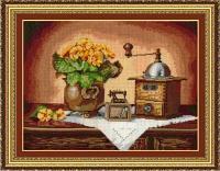 """Набор для вышивания крестом """"Кофемолка"""""""