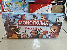 Настольная игра Монополия Маша и Медведь