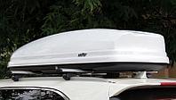 Автобокс багажник koffer A-480 белый глянец, фото 1
