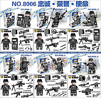 "Конструктор ""SWAT"" 8006   (6), фото 1"