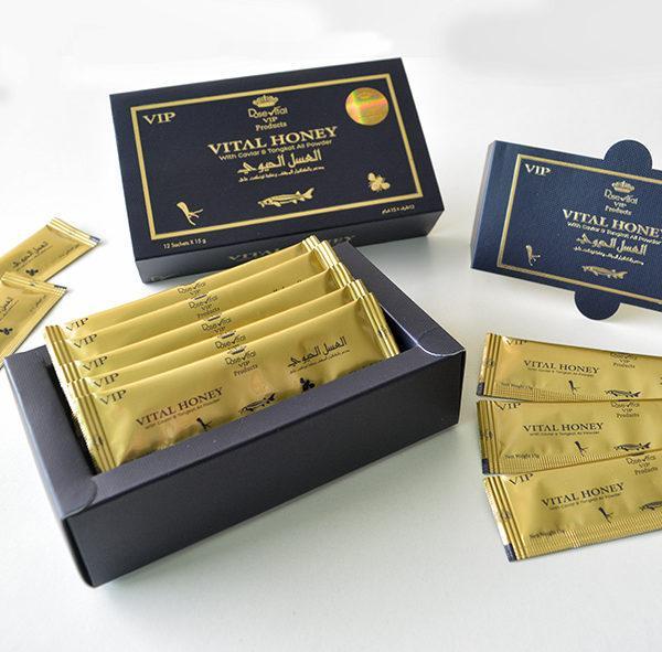 Королевский мед Vital Honey средство для мужской силы