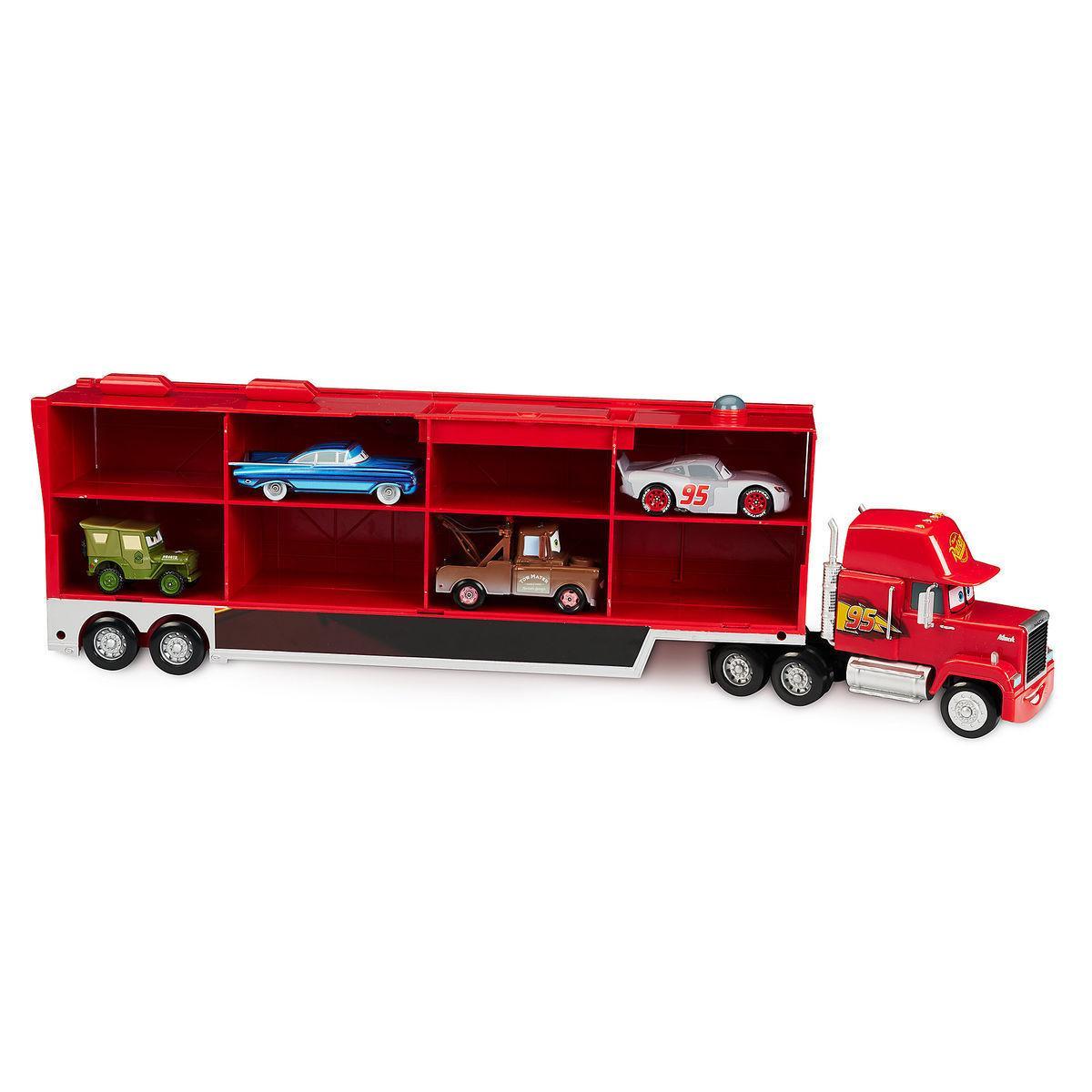 Интерактивный грузовик Мак и 4 машинок