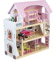 Дом для кукол с комплектом мебели EduFun EF4110, фото 1