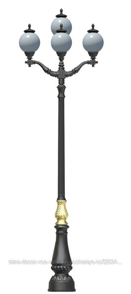 Фонарь чугунный Зальцбург 4