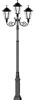 Фонарь чугунный Галия 3, фото 1