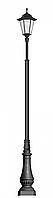 Фонарь чугунный Московский, фото 1