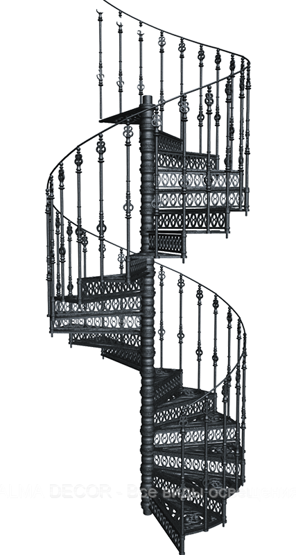 Лестница чугунная Кастилия