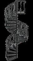 Лестница чугунная Палермо, фото 1