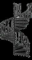 Лестница чугунная Реймс, фото 1