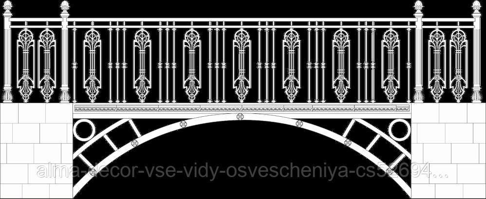 Мост декоративный 7