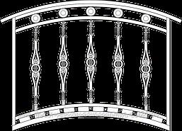 Мост декоративный 1
