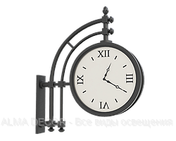 Часы на кронштейне Альбатрос