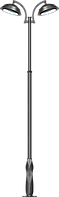 Фонарь чугунный Эра 2, фото 1