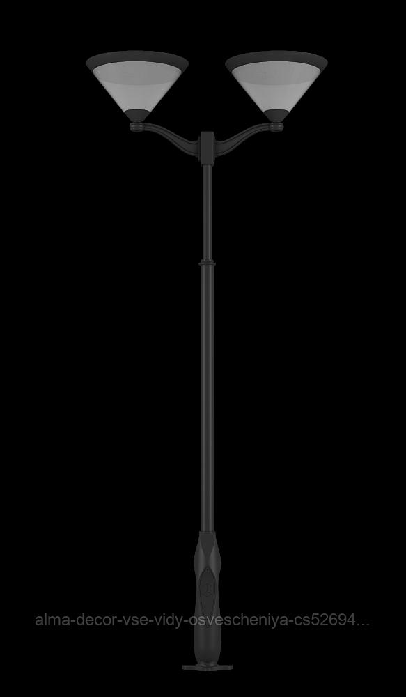 Фонарь чугунный Кристалл 2