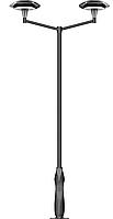 Фонарь чугунный Алмаз 2/2, фото 1