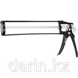 """Пистолет для герметика, 310 мл, """"скелетный"""", усиленный с фиксатором, шестигранный шток 7 мм Sparta"""