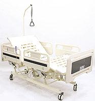 Кровать функциональная с электроприводными регулировками пластикового ложа и боковых ограждений, фото 1