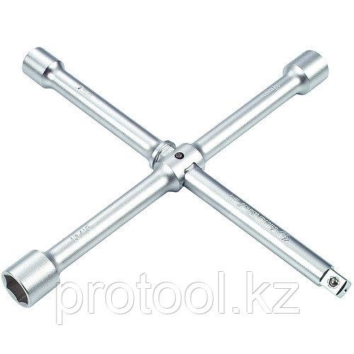 """Ключ баллонный крест 17х19х21мм 1/2"""" 300 мм сборный F-681A300""""FORCE"""""""