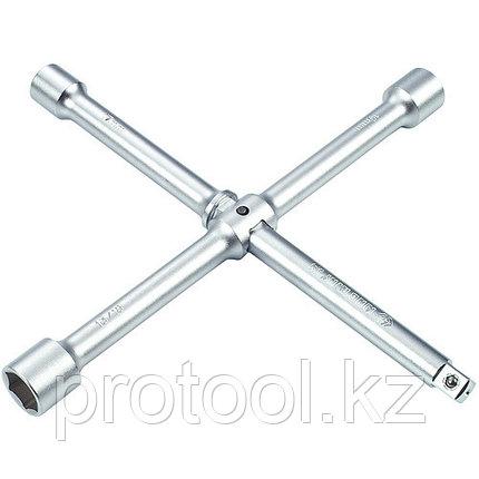 """Ключ баллонный крест 17х19х21мм 1/2"""" 300 мм сборный F-681A300""""FORCE"""", фото 2"""