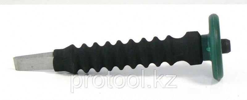 """Зубило 10х150мм с безопасной виброзащищенной ручкой F-60210150Q""""FORCE"""", фото 2"""