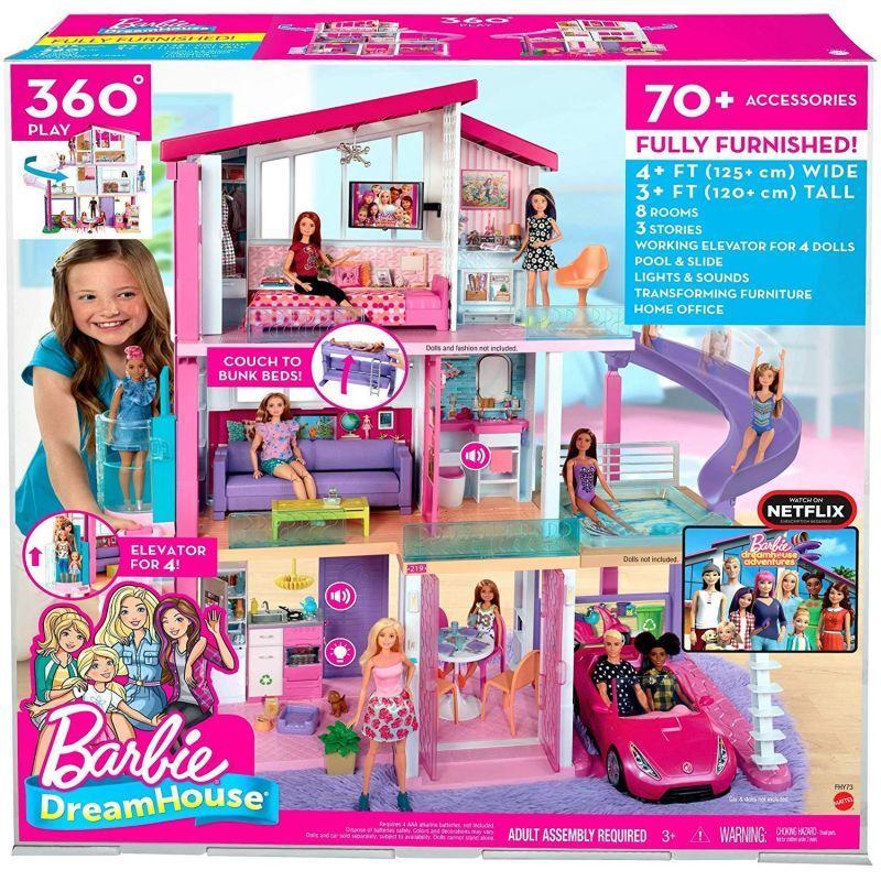 Barbie Новый Дом Мечты Барби