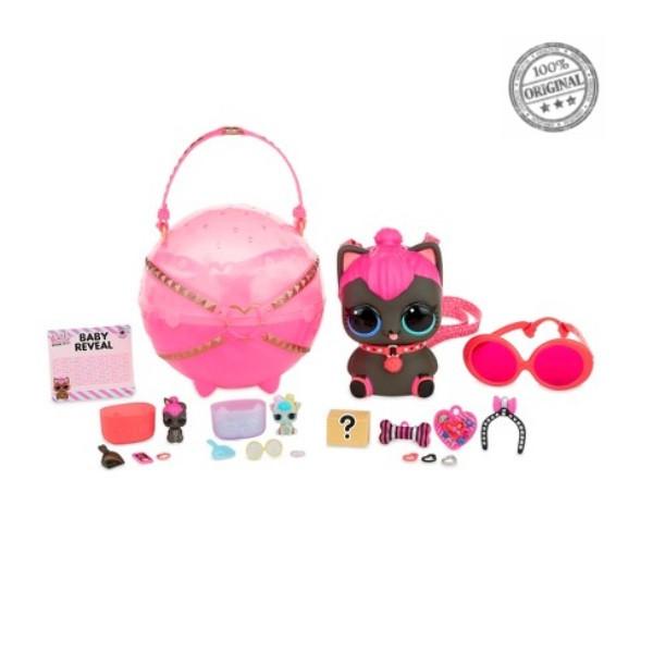 LOL Surprise - Большой шар с питомцами, Biggie Pet - Spicy Kitty, Декодер «Eye Spy» (Оригинал)