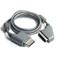 Кабель с разъемом Scart Xbox 360 Scart Cable, для подключения напрямую к монитору