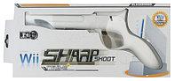 Пистолет Wii Sharp Shoot Black Horns, белый