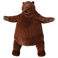Мягкая игрушка бурый медведь ДЬЮНГЕЛЬСКОГ ИКЕА, IKEA