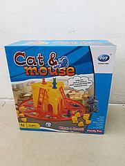 Настольная игра Кот Макс – гроза мышей (Cat & Mouse)