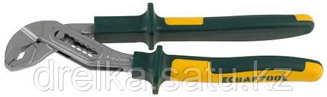 """Клещи """"KRAFT-MAX"""", переставные, Cr-Mo, маслобензост двухкомп рукоятки, шарнирное соединение с повыш износостью, фото 2"""