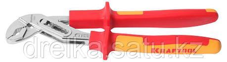 """Клещи """"ELECTRO-KRAFT"""", Cr-Mo сталь, двухкомпонентная маслобензостойкая рукоятка, хромированное покрытие, 250мм, фото 2"""
