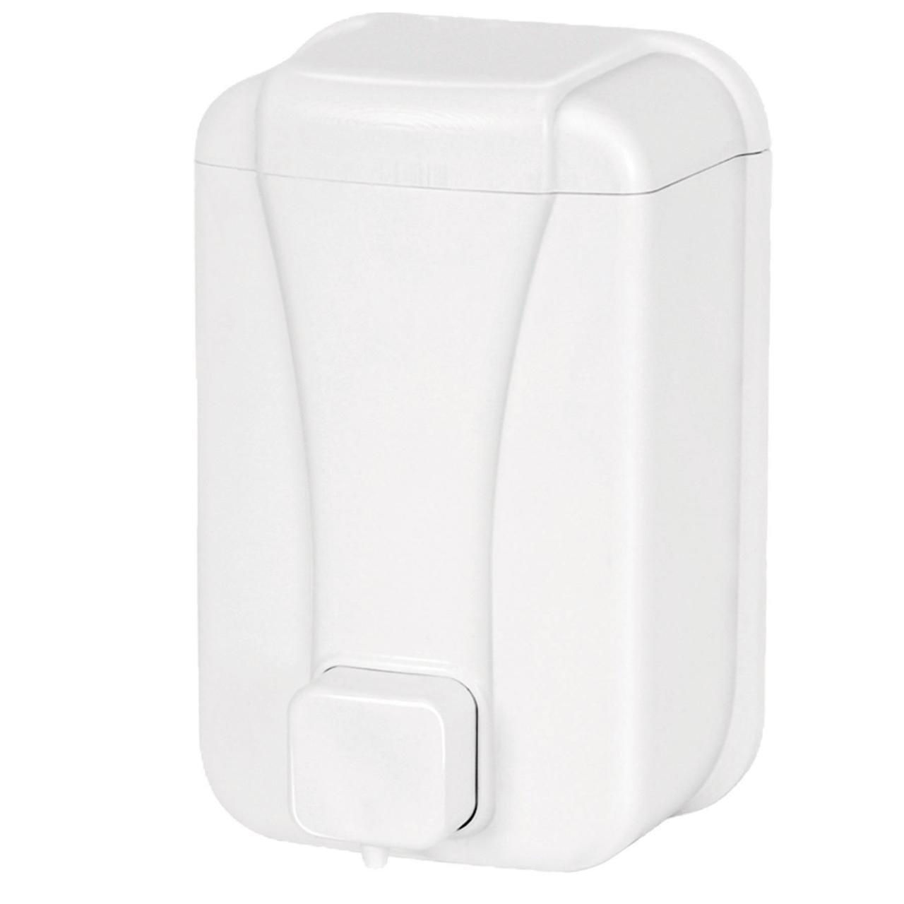 Диспенсер для жидкого мыла 500 мл. белый