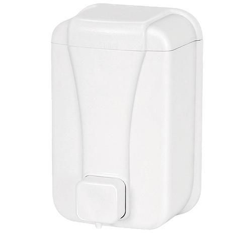 Диспенсер для жидкого мыла 500 мл. белый, фото 2