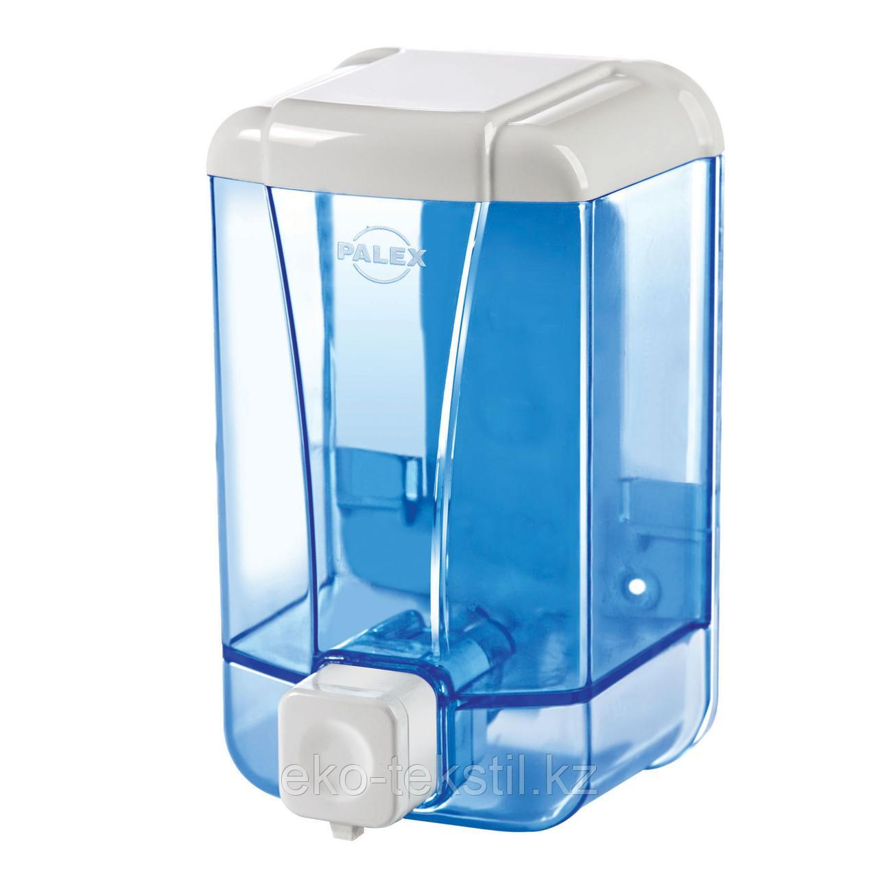 Диспенсер для жидкого мыла 500 мл, голубой
