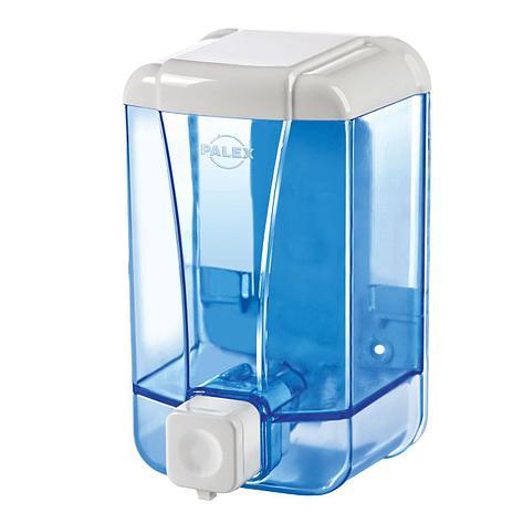 Диспенсер для жидкого мыла 500 мл, голубой, фото 2