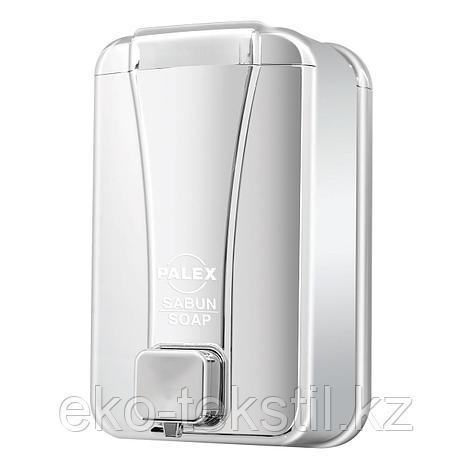 Диспенсер для жидкого мыла 1000 мл, Хром, фото 2