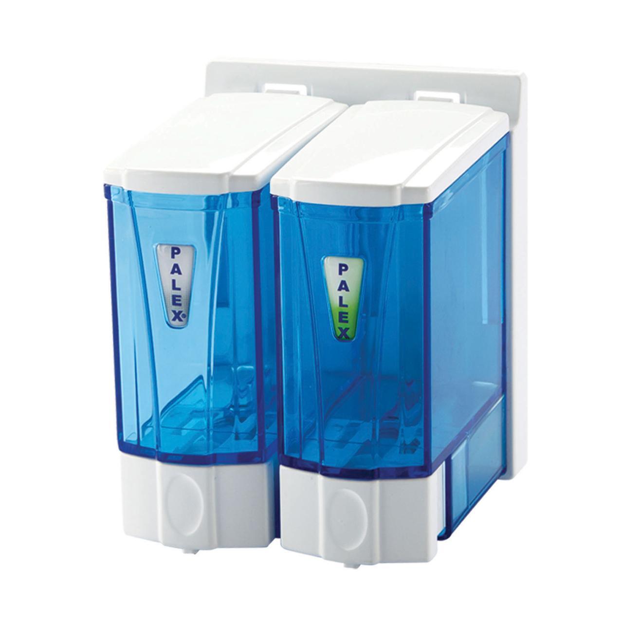Диспенсер для жидкого мыла 250 мл. двойной