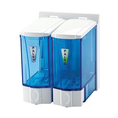Диспенсер для жидкого мыла 250 мл. двойной, фото 2