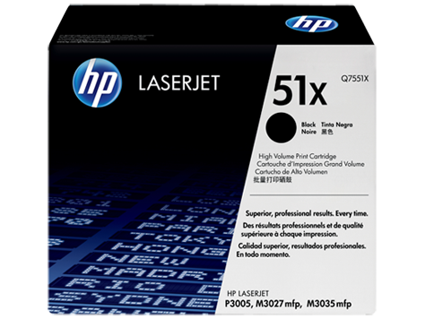Картридж HP SCRP LaserJet Contract Black (Q7551XC)